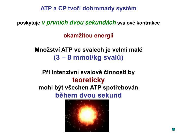 ATP a CP tvoří dohromady systém