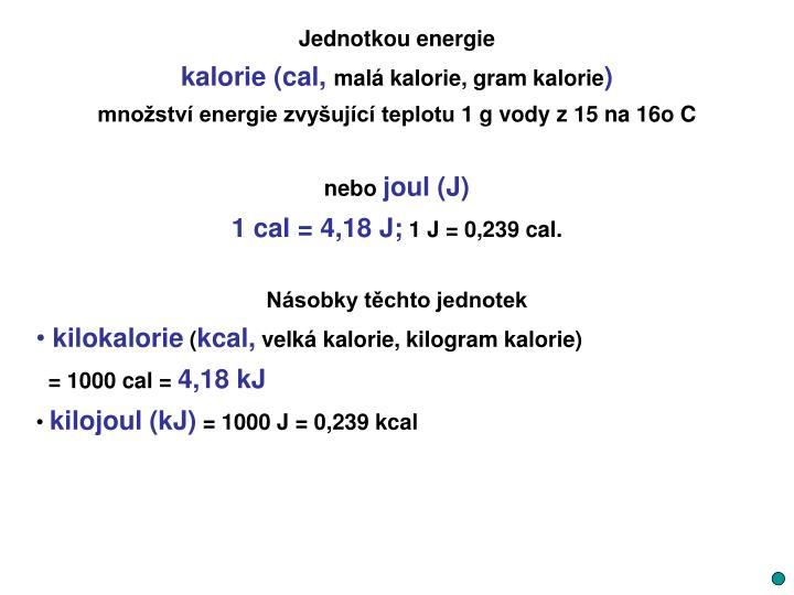 Jednotkou energie