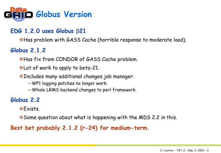 Globus version