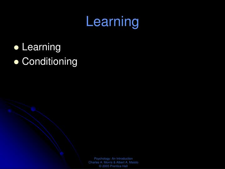 Learning1