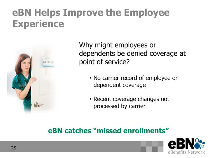 eBN Helps Improve the Employee Experience