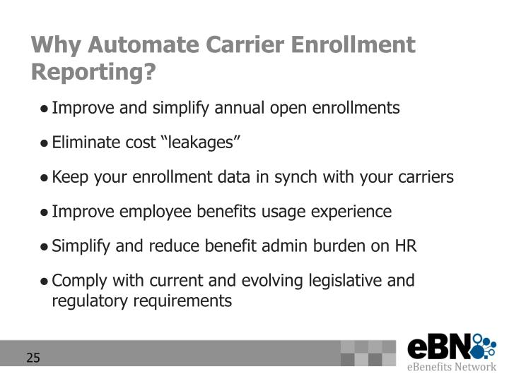 Why Automate Carrier Enrollment Reporting?