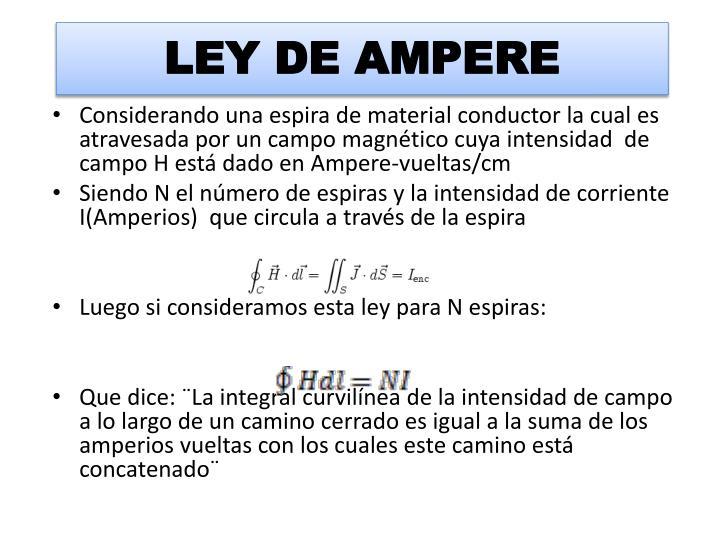 Ley de ampere1