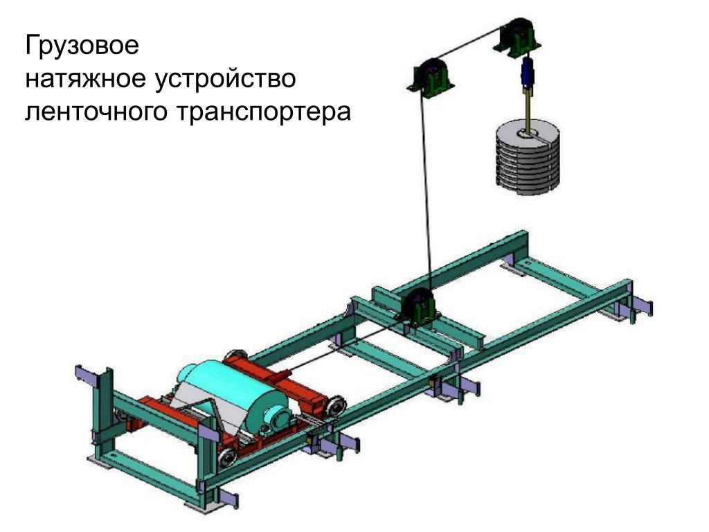 Устройство натяжное винтовое конвейера реализация с элеваторов