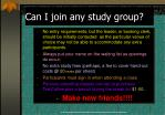 can i join any study group