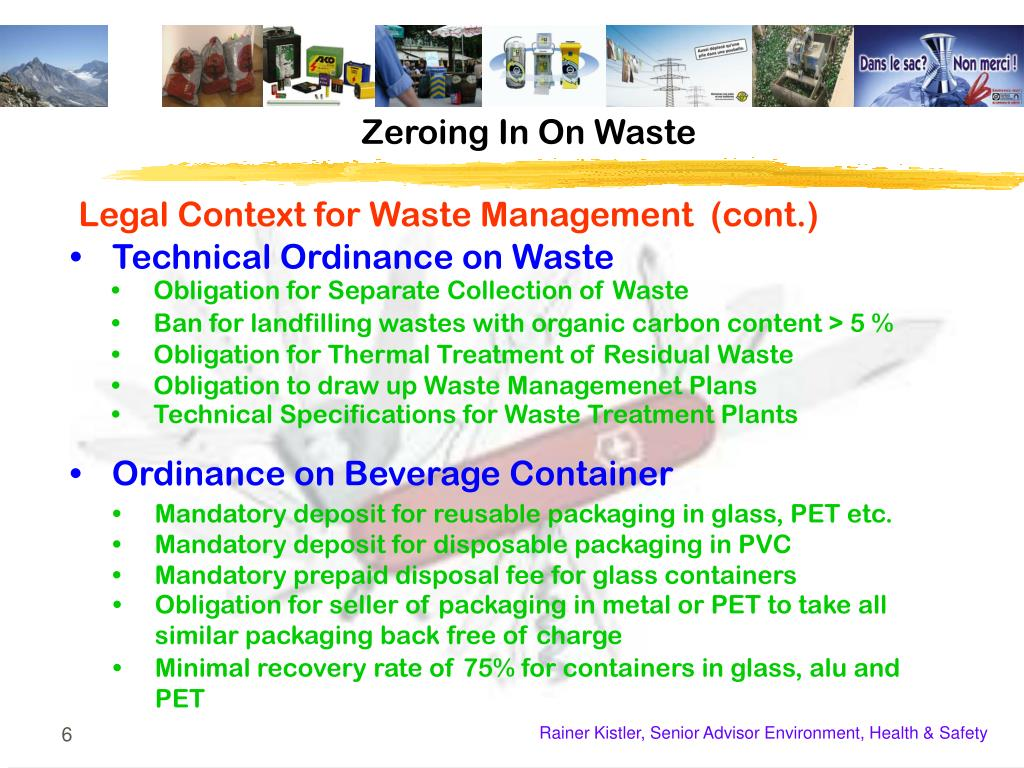 PPT - The Swiss Army Knife for Waste Management PowerPoint