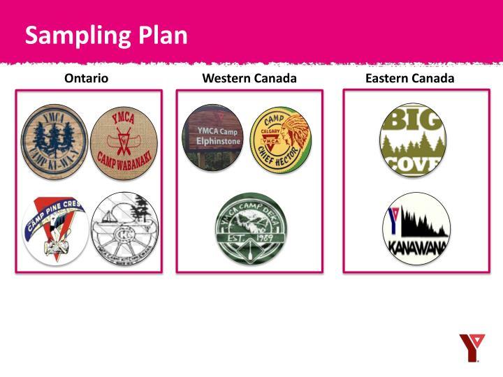 Sampling Plan