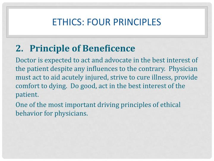 Ethics: FOUR