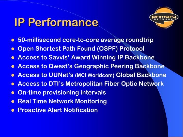 IP Performance