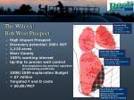 the wilcox bob west prospect