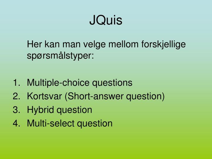 JQuis