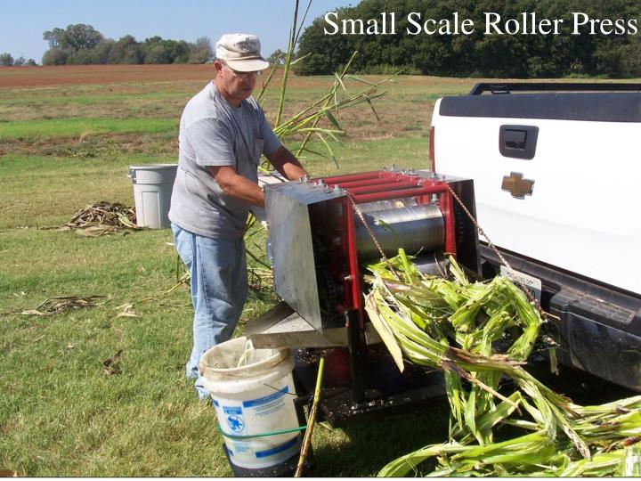 Small Scale Roller Press