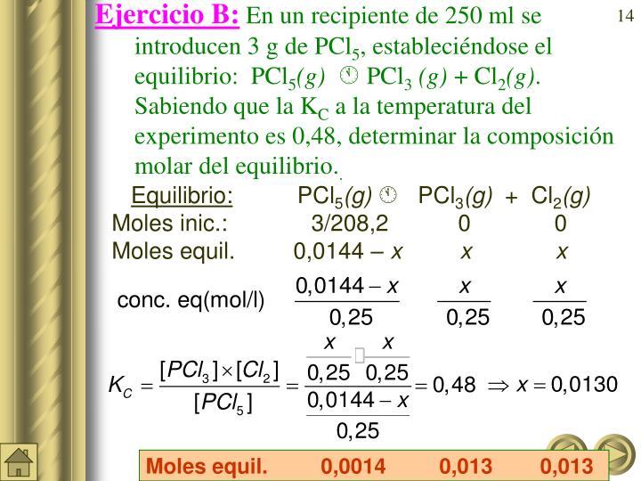 Ejercicio B: