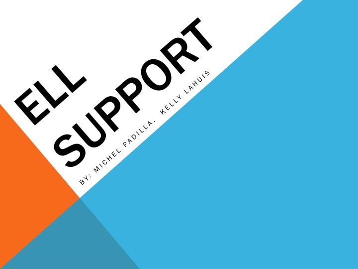 ell support n.