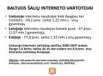 baltijos ali interneto vartotojai