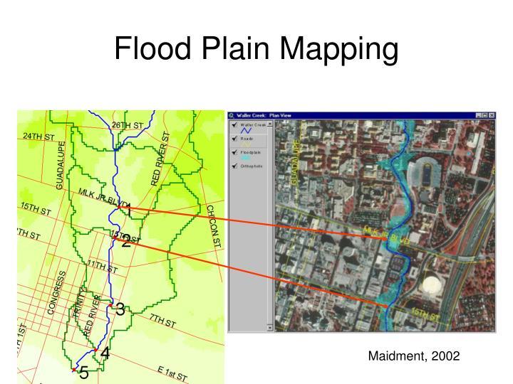 Flood Plain Mapping