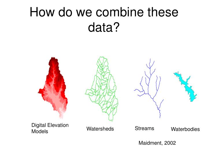 How do we combine these data?