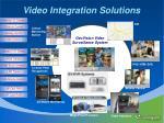 video integration solutions