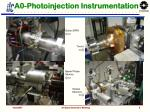 a0 photoinjection instrumentation