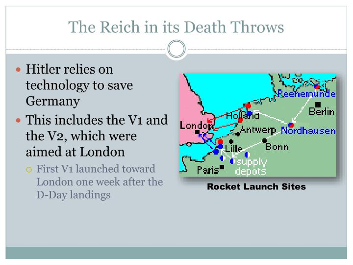 The Reich in its Death Throws