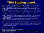 tnm staging contd