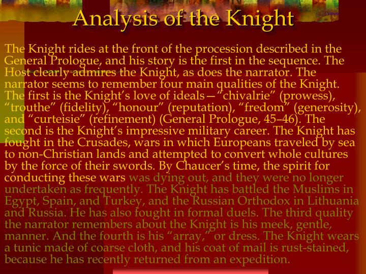 Analysis of the Knight