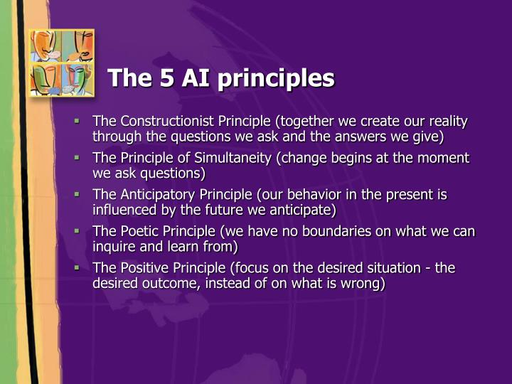 The 5 AI principles