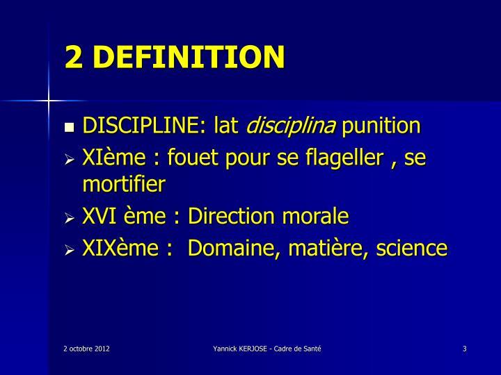 2 definition