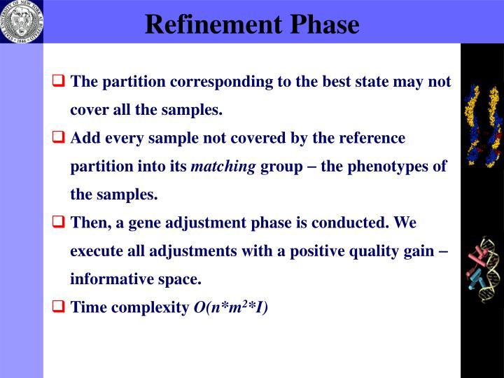 Refinement Phase