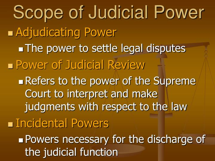 the function of the judiciary within the The us courts were created under article iii of the constitution to administer justice fairly and impartially, within the jurisdiction established by the constitution and congress.
