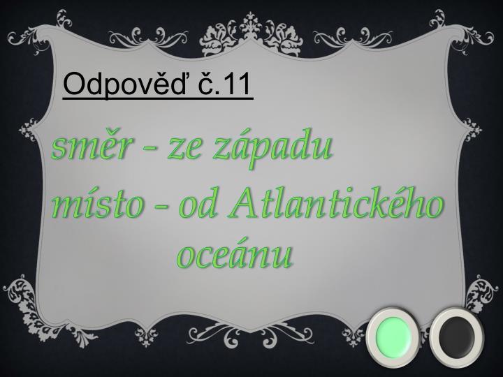 Odpověď č.11