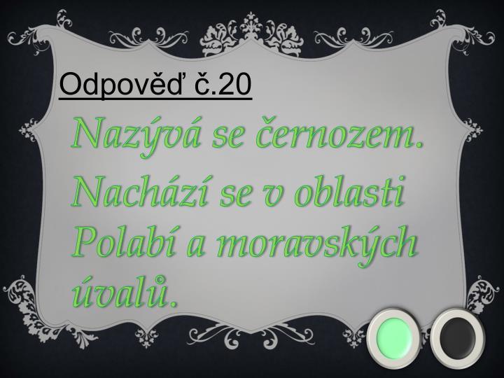 Odpověď č.20