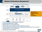 pipeline performance management