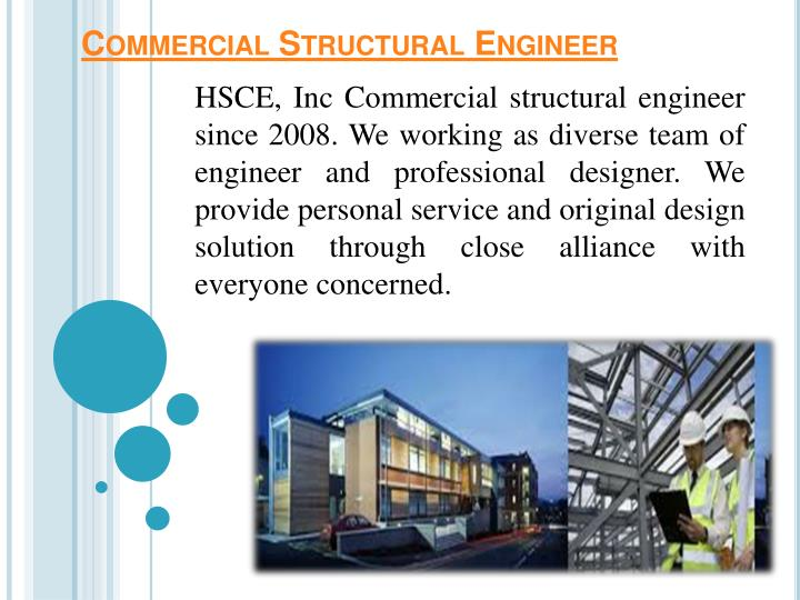 Commercial structural engineer