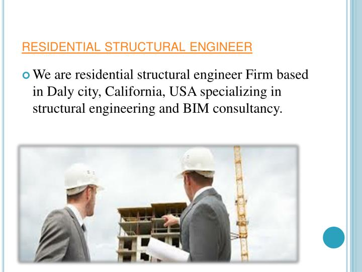 Residential structural engineer