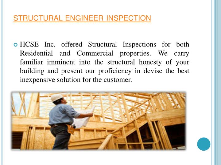 structural engineer inspection