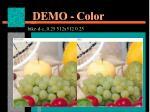 demo color