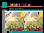demo color1