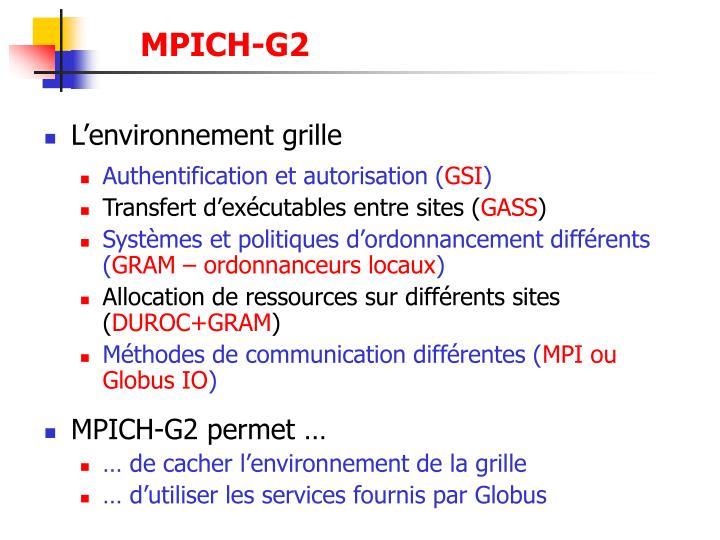 MPICH-G2