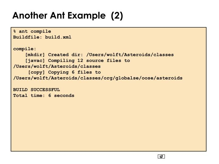 Another Ant Example  (2)
