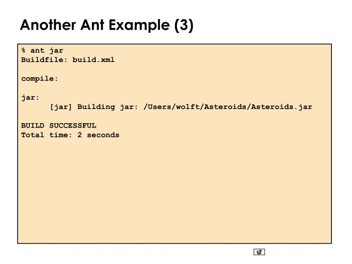 Another Ant Example (3)
