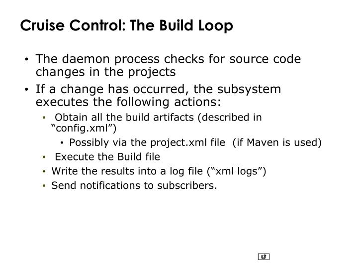 Cruise Control: The Build Loop