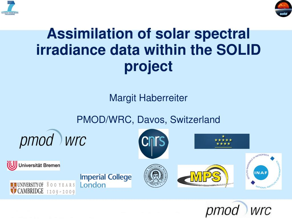 PPT - Thanks to the SOLID Team PowerPoint Presentation - ID