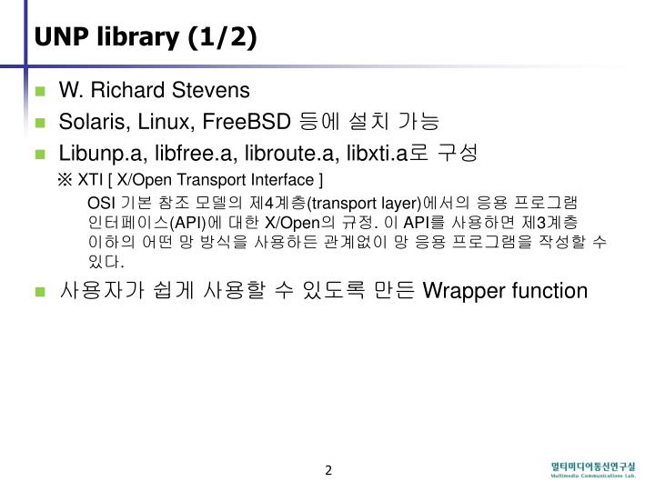 Unp library 1 2
