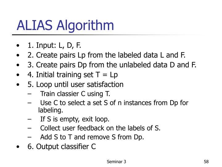 ALIAS Algorithm