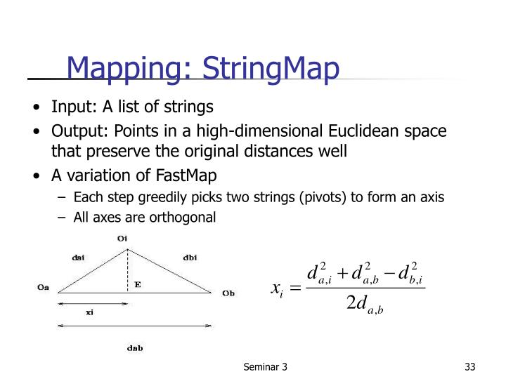 Mapping: StringMap