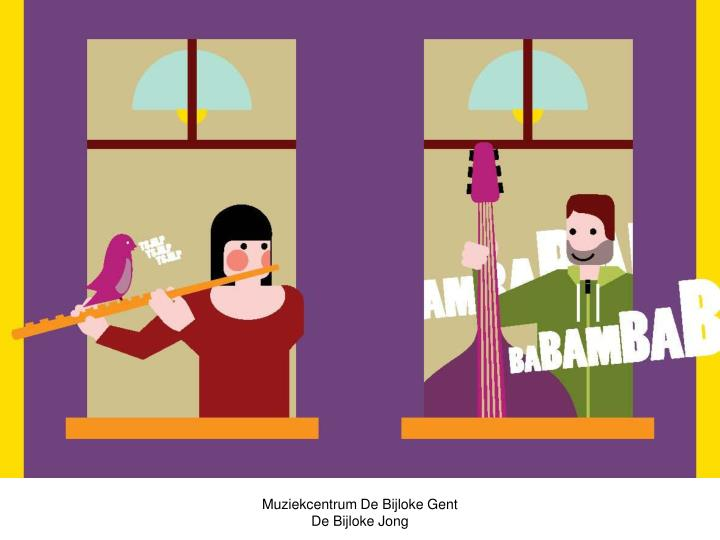 Muziekcentrum De Bijloke Gent De Bijloke Jong