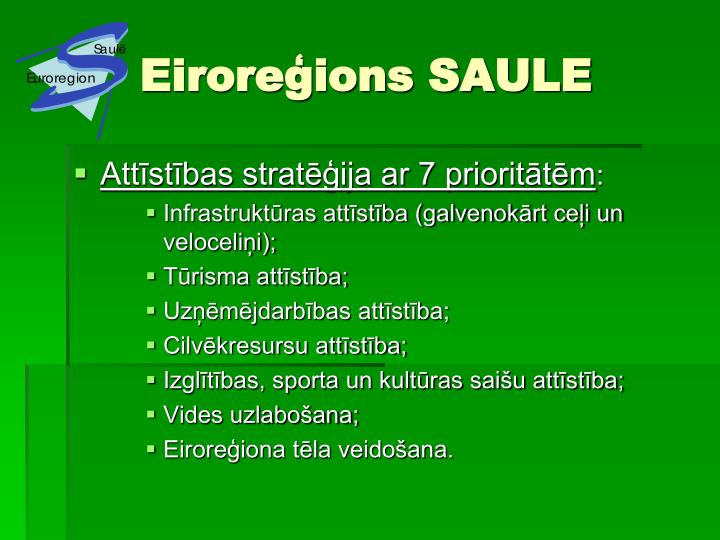 Eiroreģions SAULE