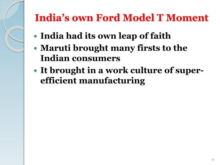 India's own Ford Model T Moment