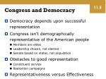 congress and democracy
